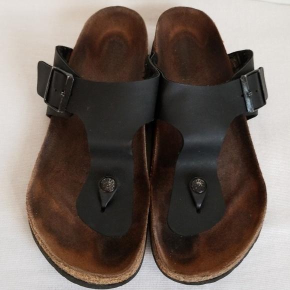 5ecc4c79d14 Birkenstock Shoes - Birkenstock Ramses Black Thong Sandals 41